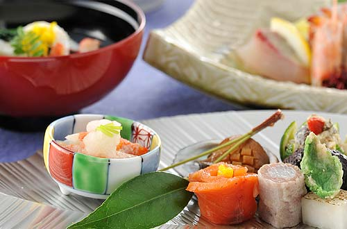 Enjoy the traditional Japanese cuisine of Setouchi for all four seasons.
